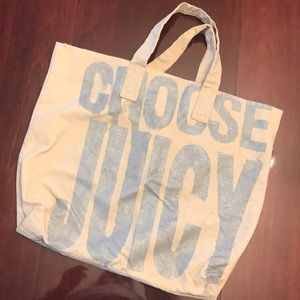 Juicy Couture Canvas Bag